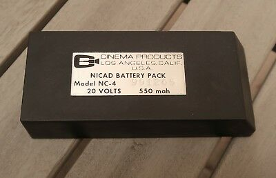 Cinema Products CP16 20V Camera Battery NC4 - NOS