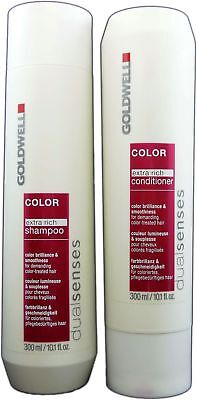 Goldwell Dualsenseses Color Extra Rich Care Shampoo & Conditioner 10.1 oz DUO