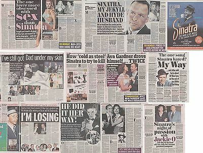 FRANK SINATRA : CUTTINGS COLLECTION -newspaper articles-