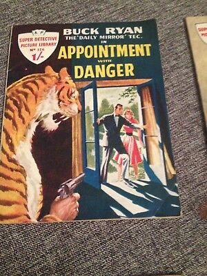 Super Detective Library #156 Buck Ryan Appointment With Danger 1959