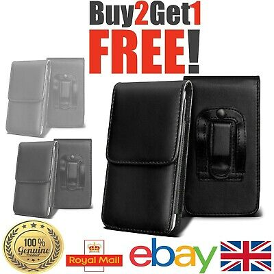 PU Leather Top Open belt wallet case cover for Samsung Various Phones