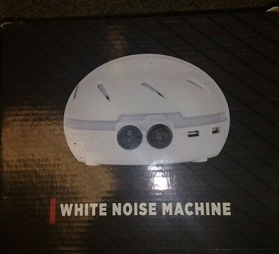 HemingWeigh White Noise Machine – Masks Noise for Improved Sleep & Concentration