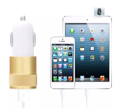 2-Port LED Dual USB 2.1A Car Phone Charger Fast Charger Apple iPhone Android LG