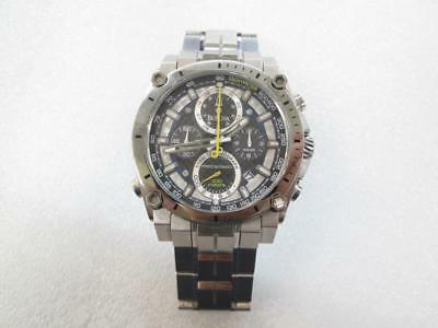 Bulova Men's Chronograph Precisionist Stainless Steel Bracelet Watch C877746