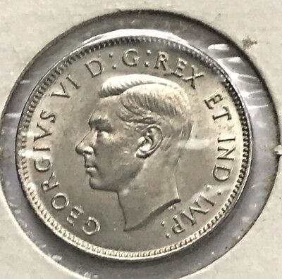 1902 Silver Five Cents 5¢ of Canada Choice BU