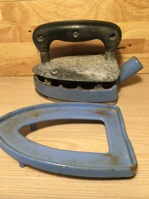 Lovely Old Vintage Gas Iron The Fairy Prince No 375 Clarks Stove Co. Ltd.