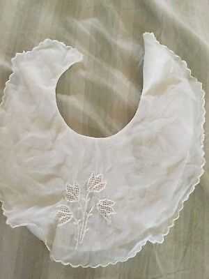 Baby Bib Vintage Made In Philipines 1950's