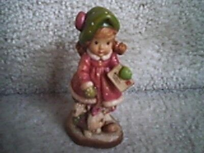 ANRI Sarah Kay Special Delivery Wood Carved Figurine 236/4000