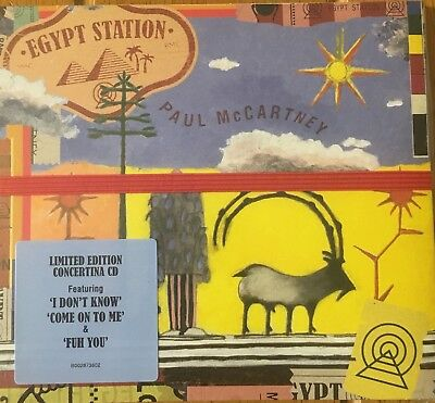 Egypt Station Limited Edition Concertina CD by Paul McCartney