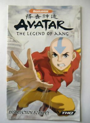 49816 Instruction Booklet - Avatar The Legend Of Aang - Sony Playstation 2 (2006