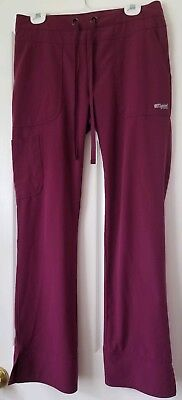 Greys Anatomy Womens Scrub Pants Small 3 Pocket EUC