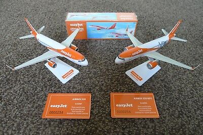 easyJet Airbus A320 & A320 NEO limited edition models, BRAND NEW, 1:200 scale .