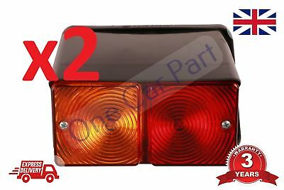 PAIR Ford 2610 3610 4000 4610 5000 5600 7700 Tractor 550 Digger Rear Light Lamp