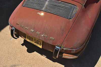 1968 Porsche 911 barnfind, all #s matching, 1 of 742 1968 911 swb Karmann coupe, barnfind