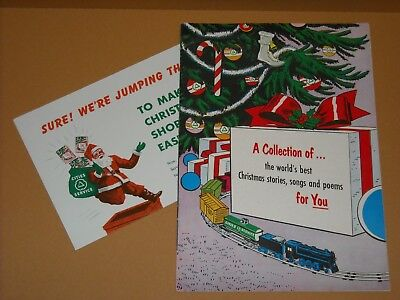Vintage 1954 Cities Service Christmas Booklet