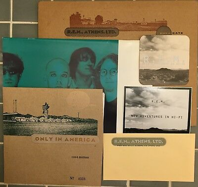 R.E.M. 1996 Holiday Fan Club Package