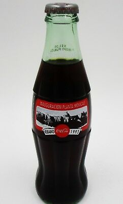 *HTF! 1993 Opening of the Mexicali Coca Cola Bottling Plant Coke Bottle Mexico