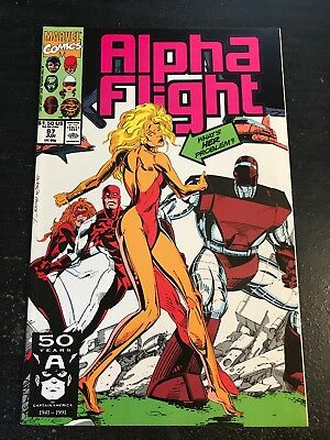 Alpha Flight#97 Incredible Condition 9.4(1991) 1st Her/Kismet App