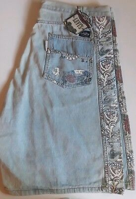 Vintage levis shorts mens sz 40 silver tab NWT Angel with wings Rose 2 tone