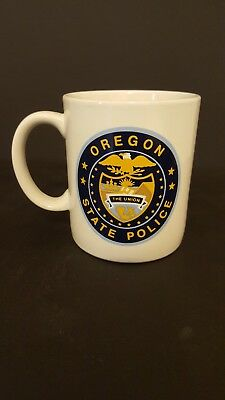 Oregon State Police Coffee Cup