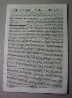 1843: CHIPPEWA treaty; FREMONT Expedition; IOWA; Chicago; CHINESE riot; Southey