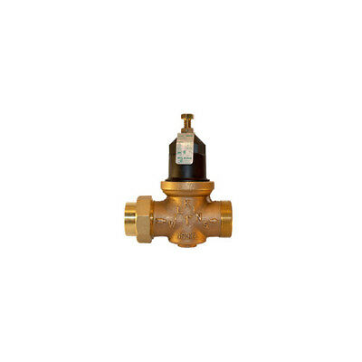 Wilkins 114-NR3XLG 1-1/4 inch Water Pressure Reducing Valve-Plugged with Gauge