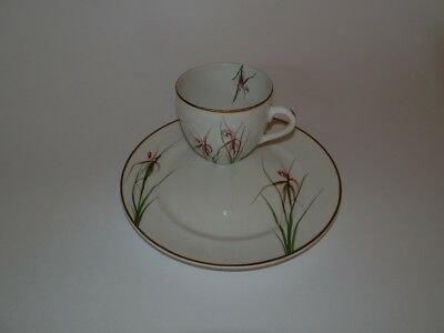 Wembley Pottery Hand-Painted Ware … Cup & Side Plate