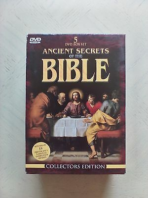 Ancient Secrets of the Bible DVD 5 Set 2000 - Documentary