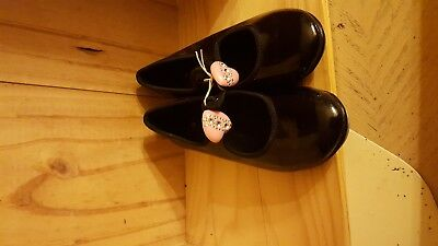 Youth Girl's Black Tap Shoes Size 6 By Spotlight