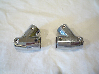 """Stainless Steel Boat Hand Rail 60 Degree Tee Hardwares Fitting 7//8/"""" Tube Unique"""