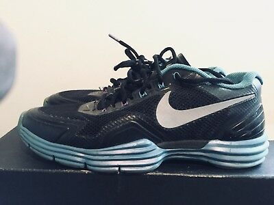 c23761679 2012 Mens Nike Lunar TR1 Sport Pack Blue Glow Black Size 9 Used Rare NDS