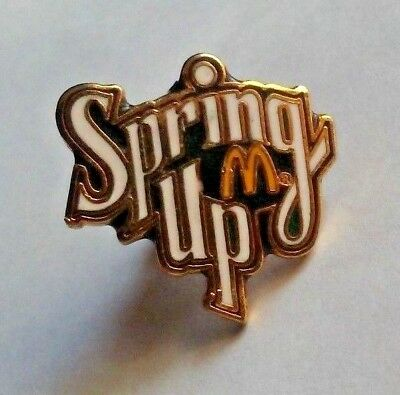 Spring Up McDonald's Crew Employee lapel pin