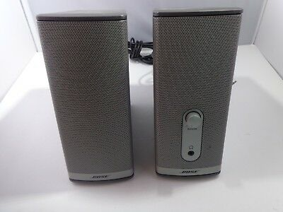 BOSE Speakers COMPANION 2 SERIES II COMPUTER MULTIMEDIA SPEAKER SYSTEM - WORKS!