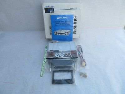 Midland Car 8-Track Player with AM/FM/MPX Stereo Radio New in Box Vintage 67-555