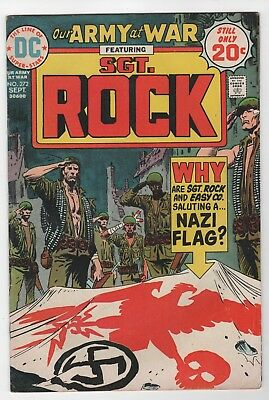 Our Army At War #272 In Fine 6.0 Condition (Sept, 1974, DC)
