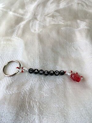 CAMERON-men or boys keychain-NEW-hand made