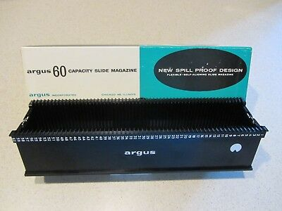 Pre-Owned ARGUS 60 Capacity Slide Magazine Spillproof Design Tray- In Box