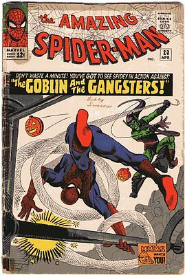 Amazing Spider-Man # 23 Beautiful Cover Art Silver Age Rare Comic Book Hot......