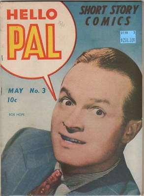 Hello Pal Short Story Comics #3 BOB HOPE photo cover ONLY copy on ebay! VF
