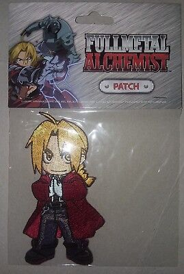 """Full Metal Alchemist Patch """"Edward"""" (new/sealed package) free shipping!"""