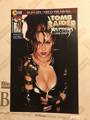 Tomb Raider Journeys Starring Lara Croft 1b Variant Adam Hughes Nm