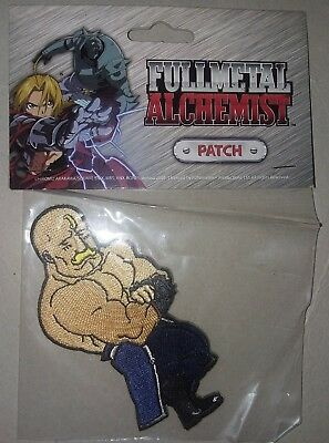 """Full Metal Alchemist Patch """"Alex"""" (new/sealed package) free shipping!"""