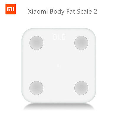 Original Xiaomi Mi Smart Body Fat Scale 2 Mifit APP & Body Monitor LED Display