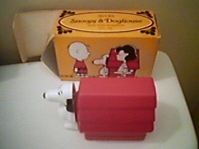 Vintage Avon Snoopy & Doghouse Shampoo -1969 New Old Stock