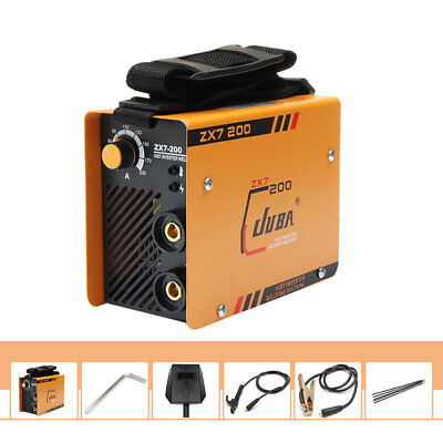 60Hz 10~200A Welding Machine MMA Portable Welder DC IGBT Soldering Inverter Tool