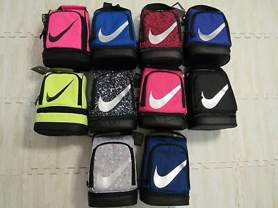 Nike Dome Lunch Bag Box Tote Insulated Zipper Nwt