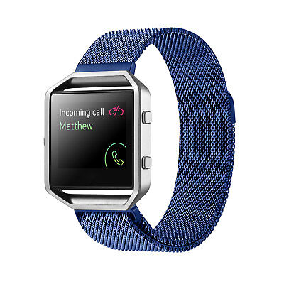 Metal Replacement Band for Fitbit Blaze with Magnetic Clasp - You Choose Color!