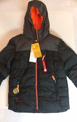 CHAMPION C9 Boys Black NWT Water Resistant Coat Puffer Jacket Size S 6-7