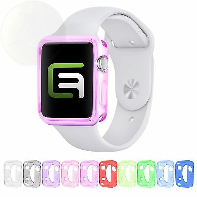 Eco-Fused TPU Case Bundle for 38 mm Apple iWatch - Pack of 10 Watch Covers