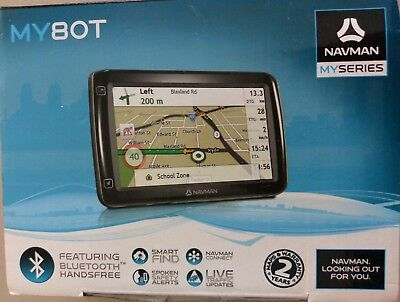 NAVMAN MY80T DASHBOARD GPS  EXCELLENT Condition as New